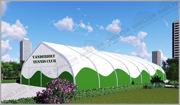18 x 36m - SHELTER Badminton Court - Indoor Badminton Court Dimension - Price for Building Tennis Court -3