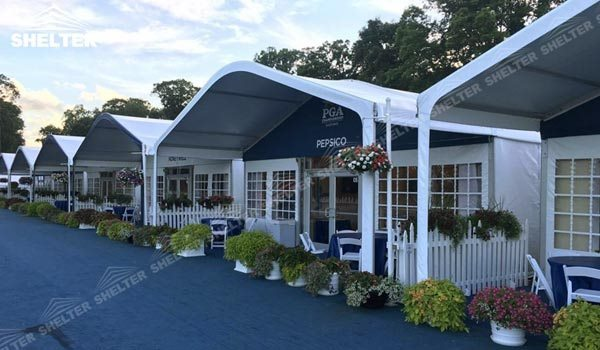 26 SHELTER Arch Tent - Golf Lounge - Curved Beam Tent - Hospitality Tent - PGA & 26 SHELTER Arch Tent - Golf Lounge - Curved Beam Tent ...