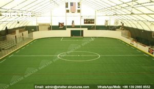 45 SHELTER 35 x 60m TFS Structures - Indoor Football Field - Indoor Soccer Court_Jc
