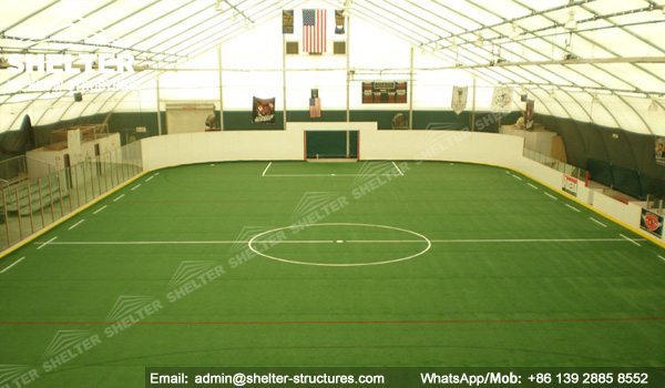 45 SHELTER 35 x 60m TFS Structures - Indoor Football Field - Soccer Court