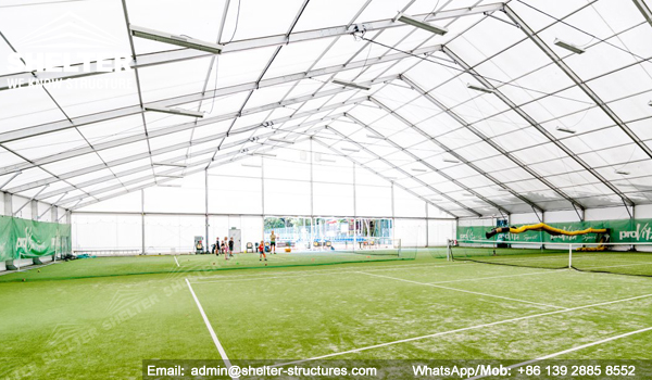52 SHELTER Indoor Football Field - Soccer Court