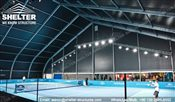 53 SHELTER 40 x 40m TFS Structures - Indoor Tennis Courts - Tennis Court Construction