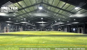 7 SHELTER Indoor Soccer Field - Covered Football Court_Jc