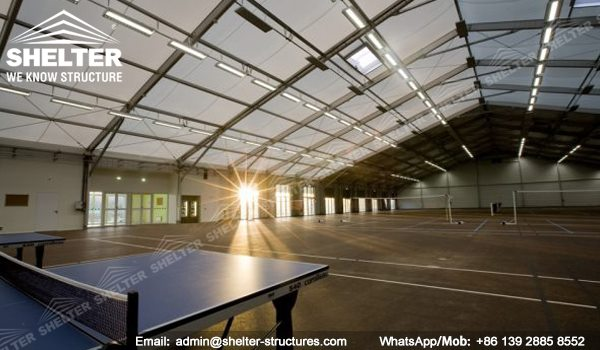SHELTER Fitness Center - Sport Complex - Stadium Tent Construction - Temporary School Sports Facilities -3