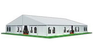 SHELTER Hospitality Tent - 3D Model of Sports Tent Structures - Sport Lounge Hall -3