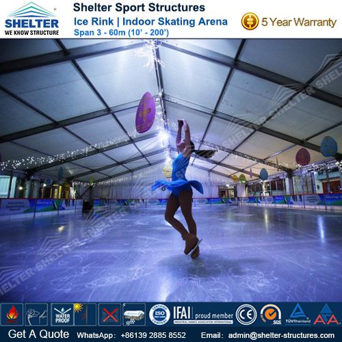 SHELTER Ice Arena - Skating Rink - Ice Hockey Hall - Public Skating Center -1