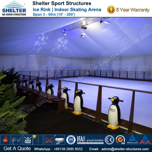 SHELTER Ice Arena - Skating Rink - Ice Hockey Hall - Public Skating Center -2