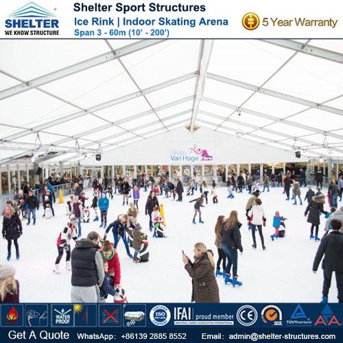 SHELTER Ice Arena - Skating Rink - Ice Hockey Hall - Public Skating Center -3