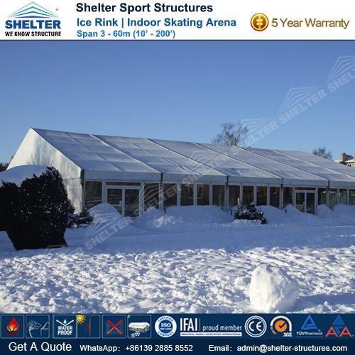 SHELTER Ice Arena - Skating Rink - Ice Hockey Hall - Public Skating Center -4