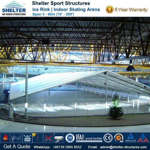 SHELTER Ice Arena - Skating Rink - Ice Hockey Hall - Public Skating Center -5