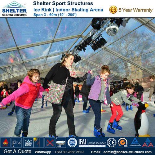 SHELTER Ice Arena - Skating Rink - Ice Hockey Hall - Public Skating Center -6