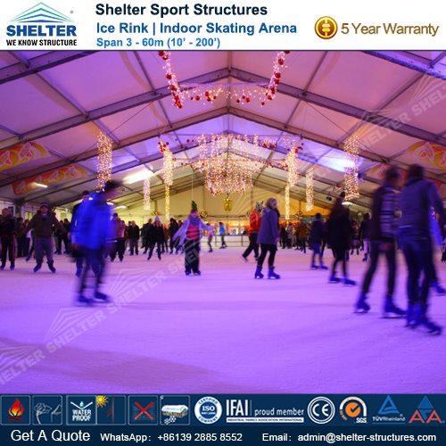 SHELTER Ice Arena - Skating Rink - Ice Hockey Hall - Public Skating Center -8