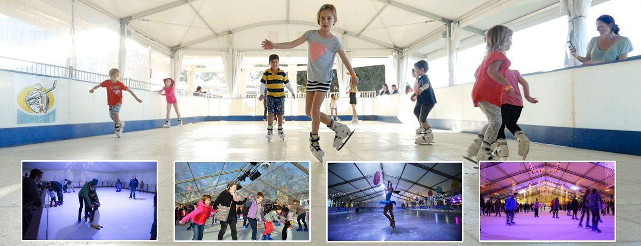 SHELTER Ice Arena - Skating Rink - Ice Hockey Rink