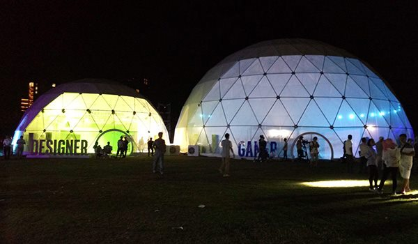 SHELTER Yoga Dome - Windows Options of Yoga Dome - Bay Windows of Geodesic Dome - Front Transparent