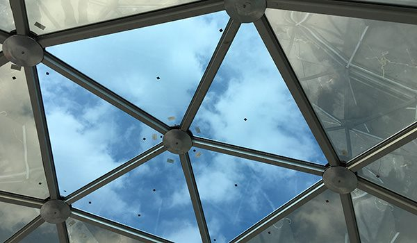 SHELTER Yoga Dome - Windows Options of Yoga Dome - Skylight Window of Geodesic Dome