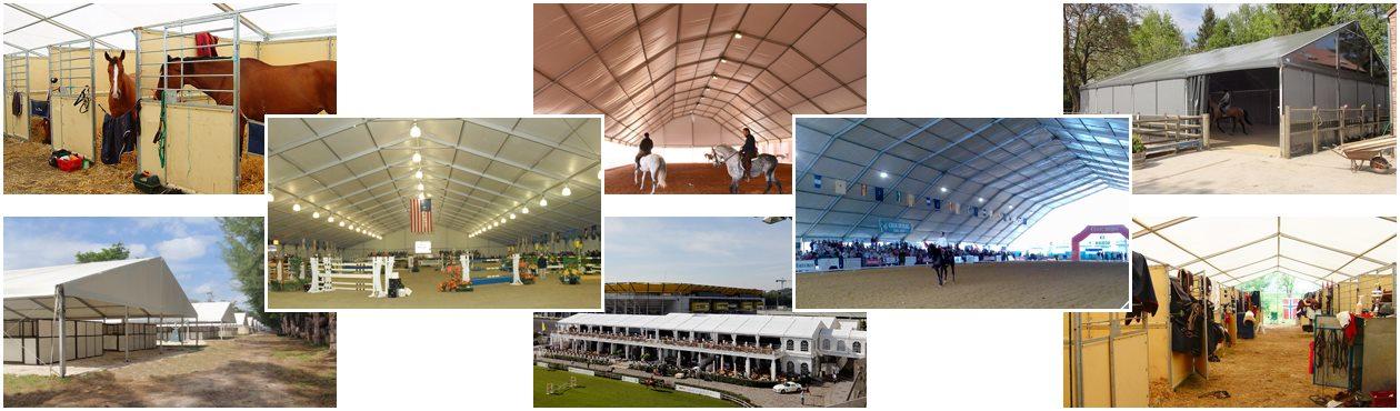 Shelter Indoor Metal Horse Arena - Covered Riding Arena for Sale - Dressage Arena - Built Equestrian Arena_Jc