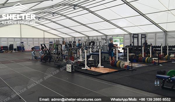 Shelter sport tent sports arena fitness center gym room