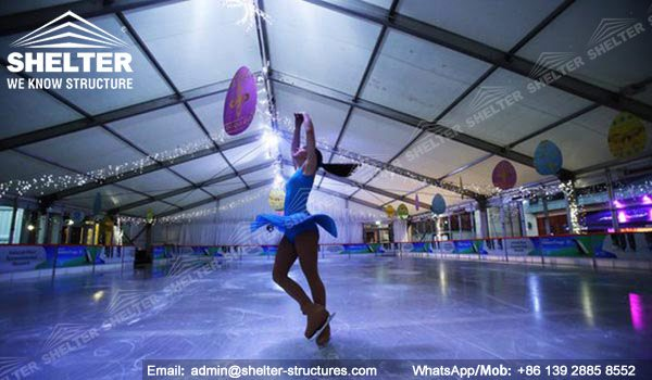 Shelter Sport Tent - Sports Arena - Ice Rink - Ice Skating Center -2