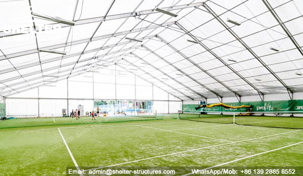 Shelter Sport Tent - Sports Arena - Indoor Football Court - Covered Soccer Field