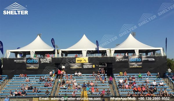 Shelter Sport Tent - Sports Arena - Sport Canopy - Standing Gazebo