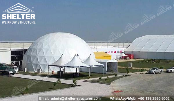 Shelter Sport Tent - Sports Arena - Sport Dome - Geodesic Domes for Sale