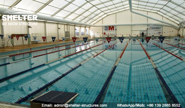 Covered Swimming Pool - Metal Pool Canopy - Pool Enclosure - Shelter Sports Tent & Covered Swimming Pool - Metal Pool Canopy - Pool Enclosure ...