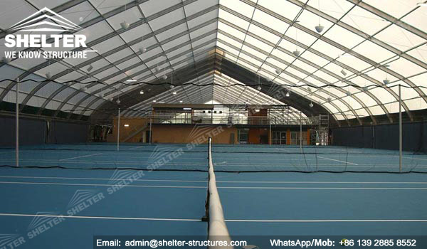 Shelter Sport Tent - Sports Arena - TFS Structures - Indoor Tennis Courts - Tennis Court Construction