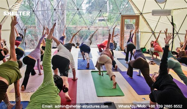 Shelter Sport Tent - Sports Arena - Yoga Dome - Yoga Room