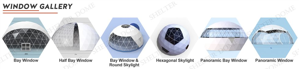 geodesic yoga dome window option 2