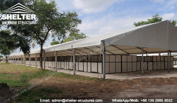 19 SHELTER Metal Horse Stables - Indoor Horse Arena - Covered Riding Arena for Sale - Built Equestrian Arena