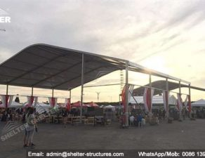 28 SHELTER Shade Canopy Tent - Arch Tent - Sunshade Canopy in Carnival - Lounge Canopy Tent