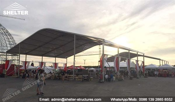 28 SHELTER Shade Canopy Tent - Arch Tent - Sunshade Canopy in Carnival - Lounge Canopy & Sports Canopy - Standing Gazebo Tents - High Peak Tent - Shelter ...