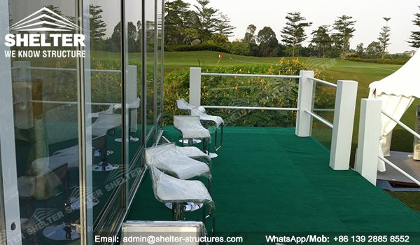 68 SHELTER Double Decker Structures - Two Story Tent - Golf VIP Lounge Tent