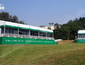 70 SHELTER Double Decker Structures - Two Story Tent - Golf VIP Lounge Tent