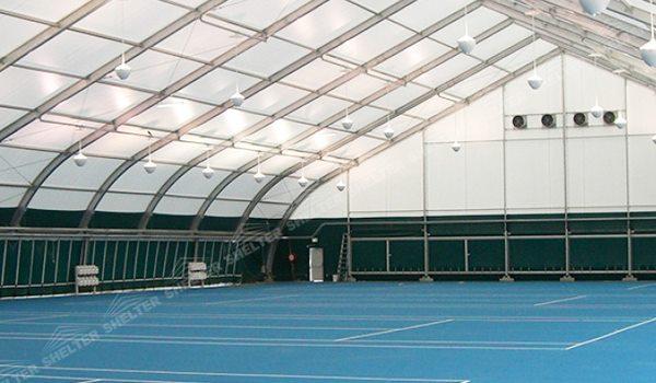 94 SHELTER Tennis Court Construction - Indoor Tennis Court Structures - Sports Tent