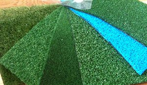 Artificial Grass for Indoor Football Field - Covered Tennis Court