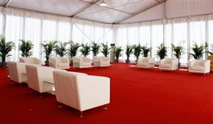 Carpet for Sport Lounge Tent