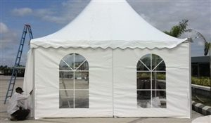 Clear PVC Windows for Sports Tent