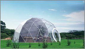 Dia. 10m - SHELTER Fitness Center - Sports Complex - Exercise Gym Club - Small Gym Room - Sport Dome