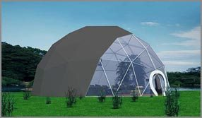 Dia. 15m - SHELTER Fitness Center - Sports Complex - Exercise Gym Club - Small Gym Room - Sport Dome