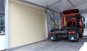 Roller Shutter Door for Sports Tent Structures
