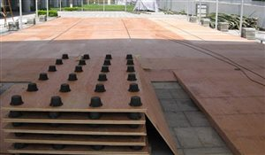 Wooden Floor for Sports Tent Structures