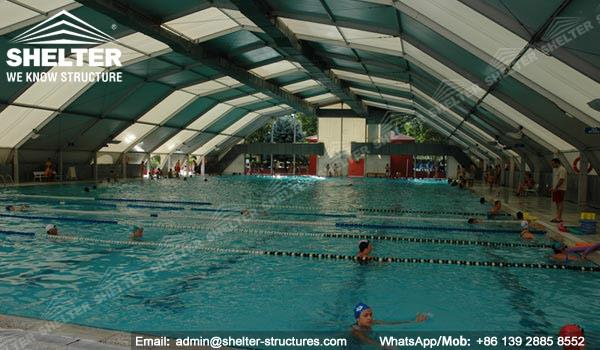Shelter Sport Tent - Sports Arena - Swimming Pool Canopy - Pool Enclosure -2